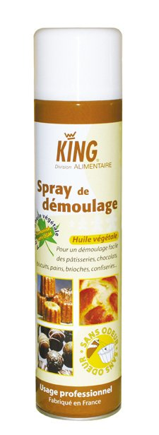 Spray antiaderent pentru tavi, matrite, 600 ml - King
